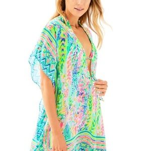 Lilly Pulitzer gardenia cover up